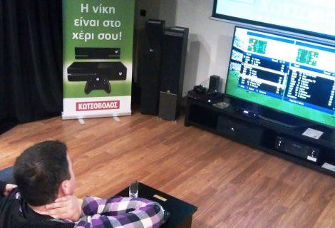 FIFA 14 Xbox One Press Tournament: Κουνώντας το σεντόνι στον Κωτσόβολο