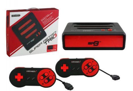 Παίξε SNES, NES και Mega Drive με το Super Retro Trio!