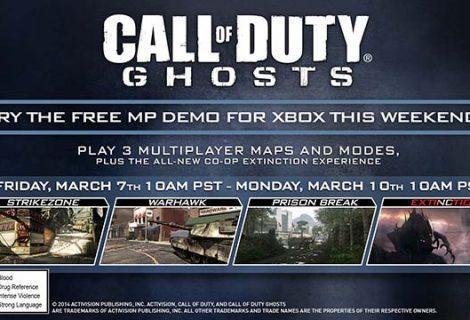 Παίξε δωρεάν CoD: Ghosts στο Xbox σου για αυτό το Σ/Κ