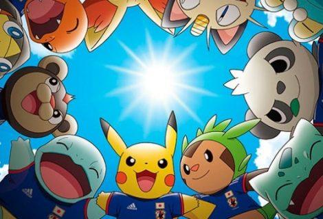 Ο Pikachu μασκότ της Εθνικής Ιαπωνίας στο Μουντιάλ της Βραζιλίας!