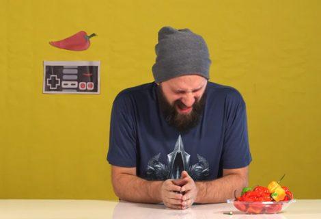 Παρουσίαση του Reaper of Souls τρώγοντας… καυτερές πιπεριές!
