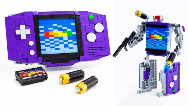 Οι αγαπημένες σου κονσόλες έγιναν… Transformers με LEGO!