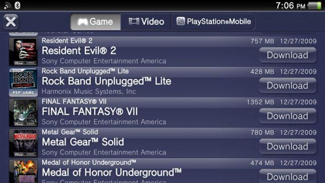 Έρχονται στο PS Vita όλα τα παιχνίδια του PS One και του PSP (;)