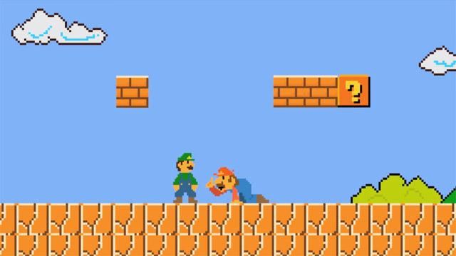 Τι θα γινόταν αν το Super Mario ήταν περισσότερο ρεαλιστικό;
