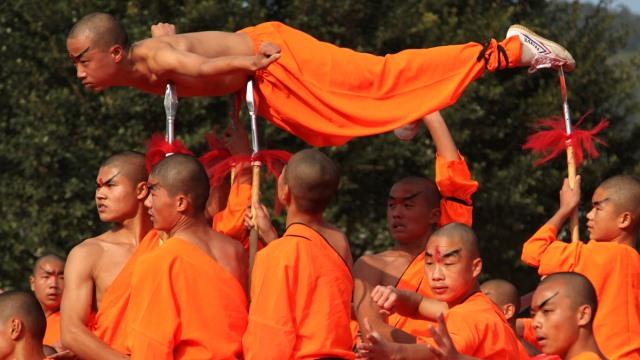 Οι μοναχοί Σαολίν έχουν smartphones αλλά δεν παίζουν παιχνίδια!