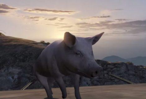 Grand Theft Auto V + Goat Simulator = κλάμα!