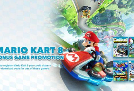 Αγόρασες το Mario Kart 8; Τσίμπα άλλο ένα παιχνίδι δώρο!