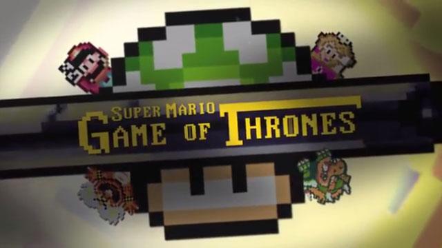 Το Game of Thrones στον κόσμο του Super Mario World