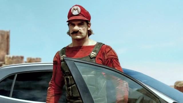 Ο Super Mario διαφημίζει αυτοκίνητο της Mercedes Benz. Σοβαρά!