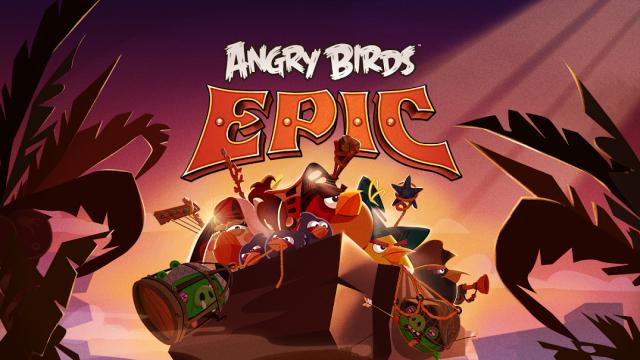 Angry Birds Epic. Η επική επιστροφή των θυμωμένων πουλιών!