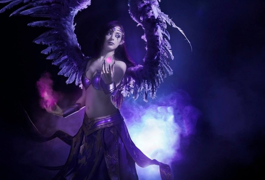 H Issabel φωτογραφίζεται ως Morgana