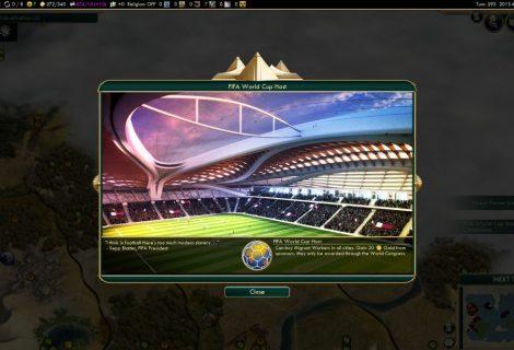 Σαρκαστικό FIFA mod για το... Civilization V!