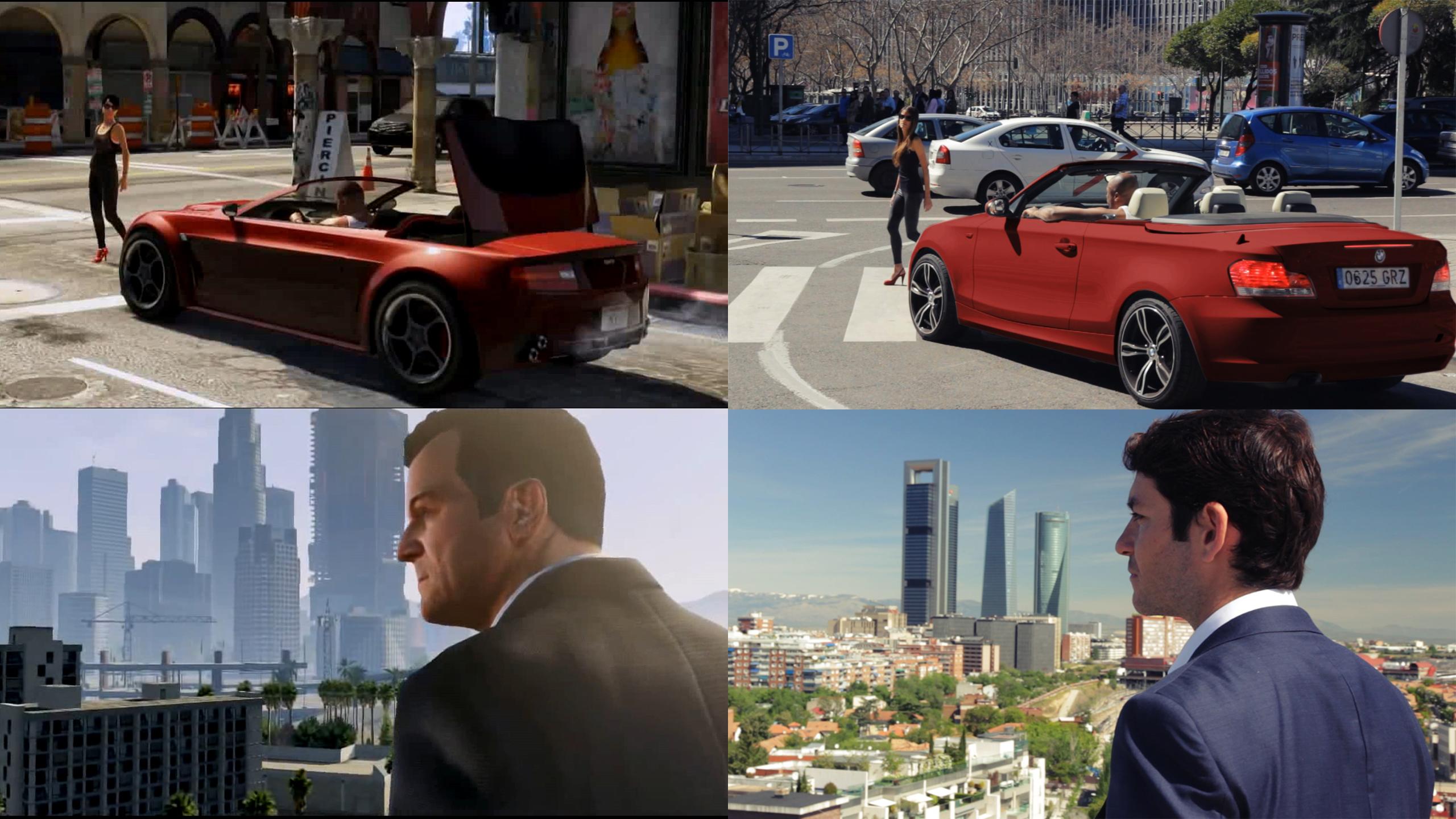 GTA 5: Madrid... Ένα συναρπαστικό fan-made trailer (video)!