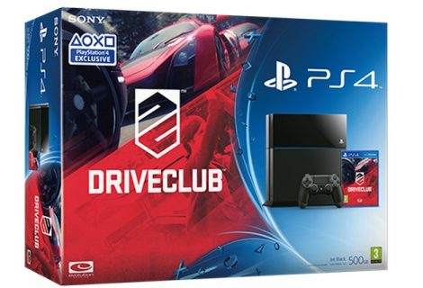 PlayStation 4. Νέο bundle με το DriveClub!