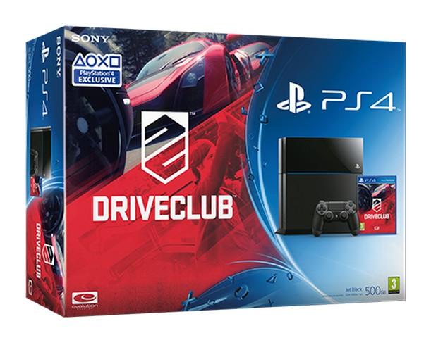PlayStation 4. Νέο bundle με το DriveClub!