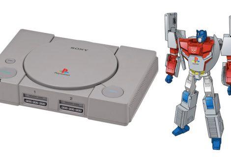Το Sony PlayStation 1 μεταμορφώνεται στον… Optimus Prime!