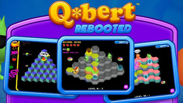 Q*bert Steam reboot! Ένας φίλος ήρθε απόψε από τα παλιά!