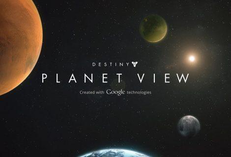Destiny Planet View. On-line ξενάγηση στους πλανήτες του Destiny!