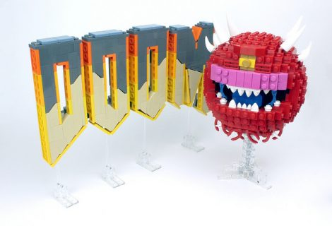 Gamer δημιουργεί επικό Doom set από τουβλάκια LEGO!
