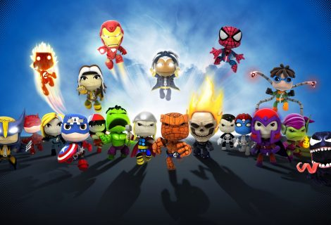LittleBigPlanet Marvel Super Hero Edition το Νοέμβριο στο PS Vita!