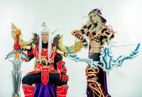 Ένα γαμήλιο cosplay party εμπνευσμένο από το World of Warcraft!