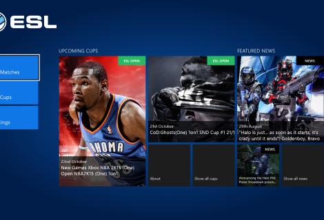 Νέο ESL app για το Xbox One
