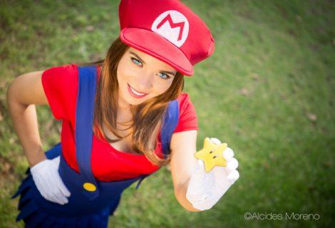 Η Windy υποδύεται μία πανέμορφη θηλυκή version του Super Mario!