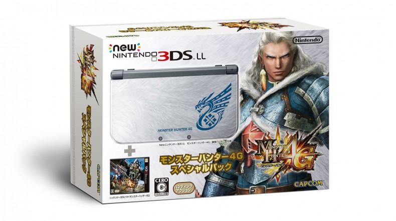 New 3DS Monster Hunter 4G