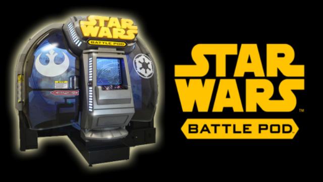 Star Wars: Battle Pod. Το υπέρτατο arcade cabinet!