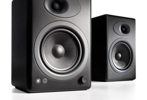 Hχεία Audioengine 5+. Για δυναμικό ήχο, χωρίς συμβιβασμούς!