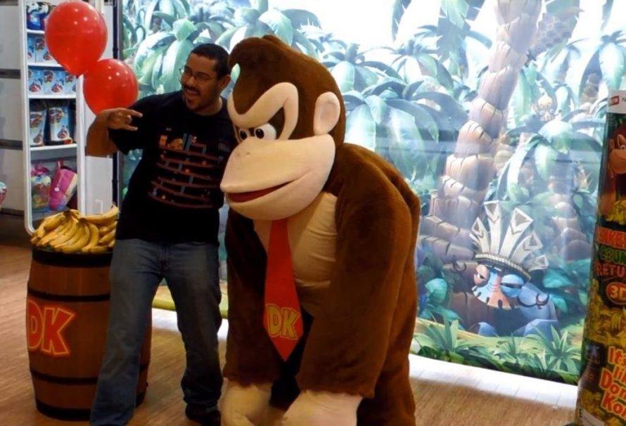 Ανιματέρ που υποδύθηκε τον Donkey Kong μηνύει τη Nintendo!