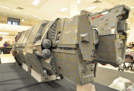 Fan του Halo ξοδεύει $7.000 για να κατασκευάσει το Pillar of Autumn με Lego!