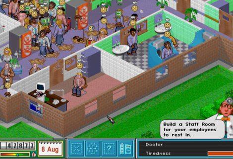 Το Theme Hospital διαθέσιμο για free downloading!