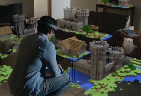 To Minecraft στο Hololens!