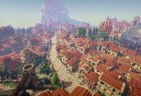 Ακόμα χτίζουν το Game of Thrones μέσω Minecraft!