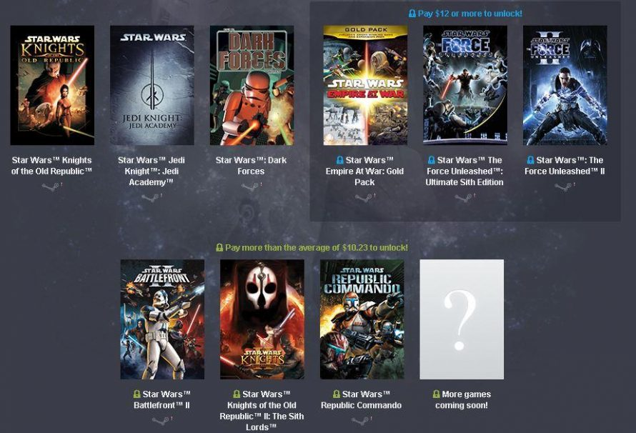 To απόλυτο Star Wars Humble Bundle… με μόλις 12$, 9 τίτλοι!
