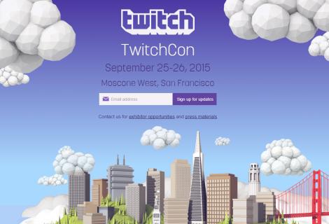 Το Twitch ανακοίνωσε τη διεξαγωγή του πρώτου TwitchCon!