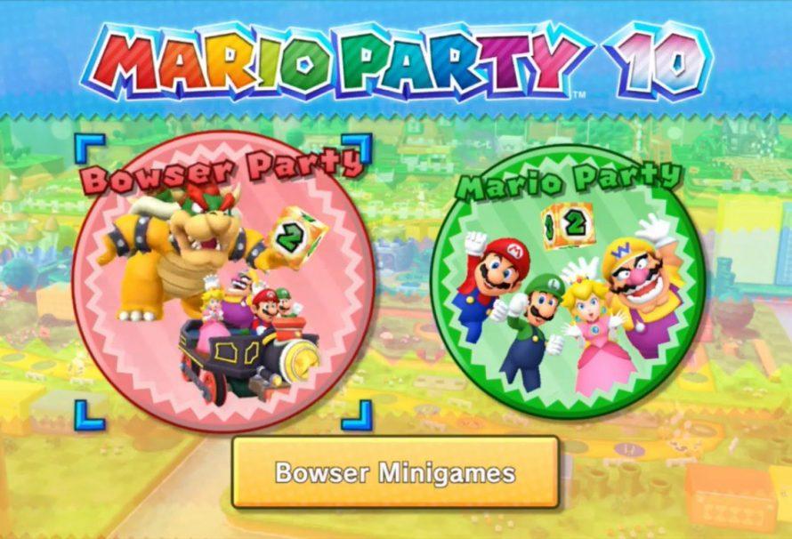 Τι παίζει με το Mario Party 10;
