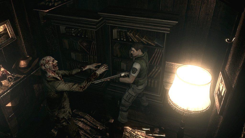 Resident Evil HD 10