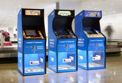 Arcade cabinets συλλέγουν χρήματα για τον Ερυθρό Σταυρό!