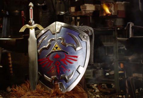 Κατασκευάζοντας μια αληθινή Hylian Shield!