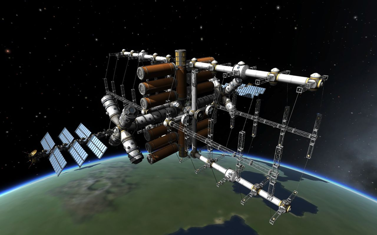 kerbal space station build - photo #7