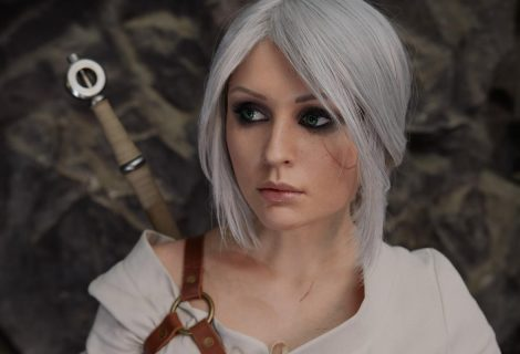 H γοητευτική Galina ποζάρει ως Ciri και μας ταξιδεύει στον κόσμο του Witcher 3!