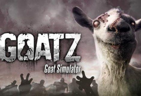 Με το GoatZ DLC, το Goat Simulator πλημμυρίζει από zombies!