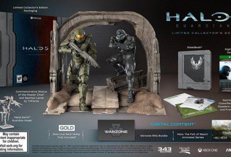 Στη δημοσιότητα το epic αγαλματίδιο της Halo 5: Limited Collector's Edition!