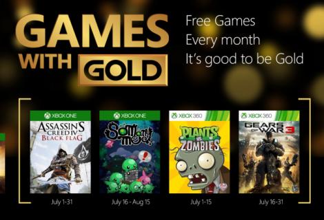 Τα Χρυσά και Δωρεάν Ιουλίου για το Xbox Live