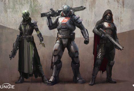 """Οι χαρακτήρες του Destiny θα είναι """"ζωντανοί"""" για 10 χρόνια!"""