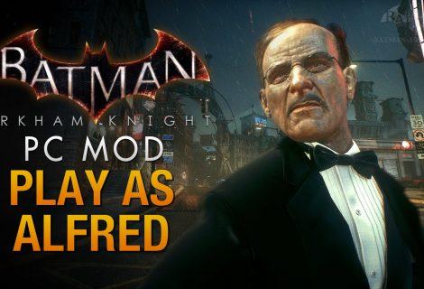 Τρελό mod αντικαθιστά τον Batman του Arkham Knight με τον... Alfred!