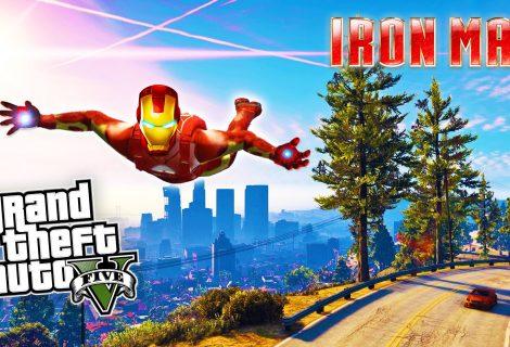 Επικό mod φέρνει τον Iron Man στον κόσμο του Grand Theft Auto 5!