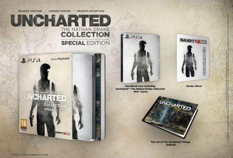 Ανακοινώθηκε για την Ευρώπη η Uncharted: The Nathan Drake Collection SE!